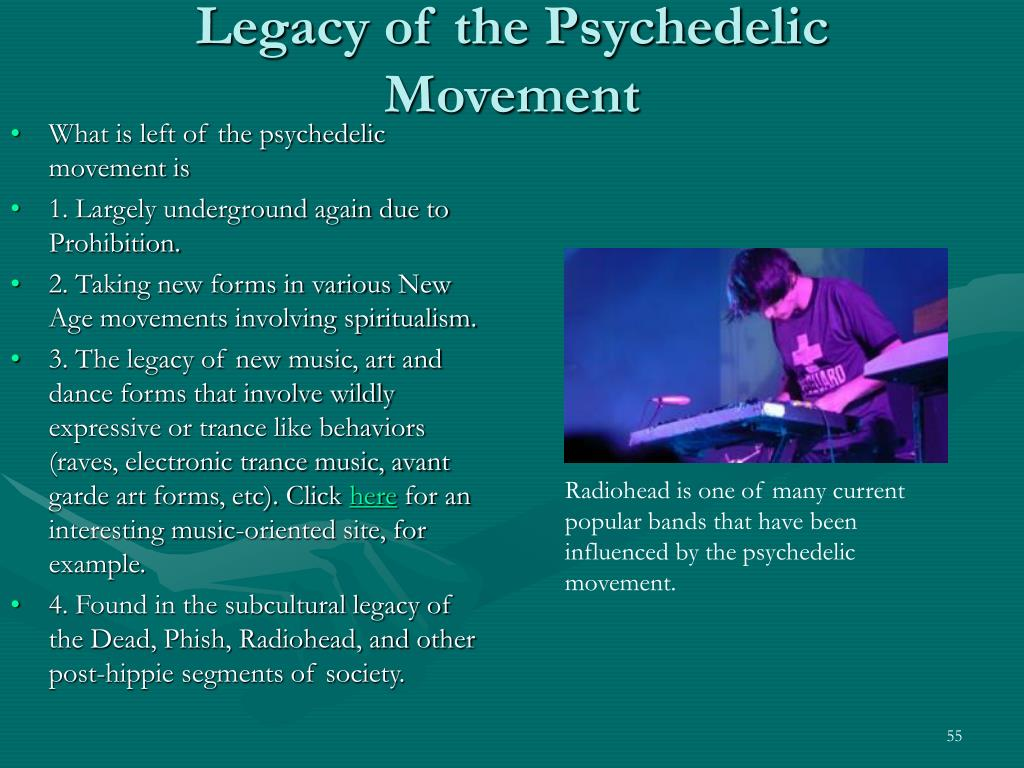 Legacy of the Psychedelic Movement