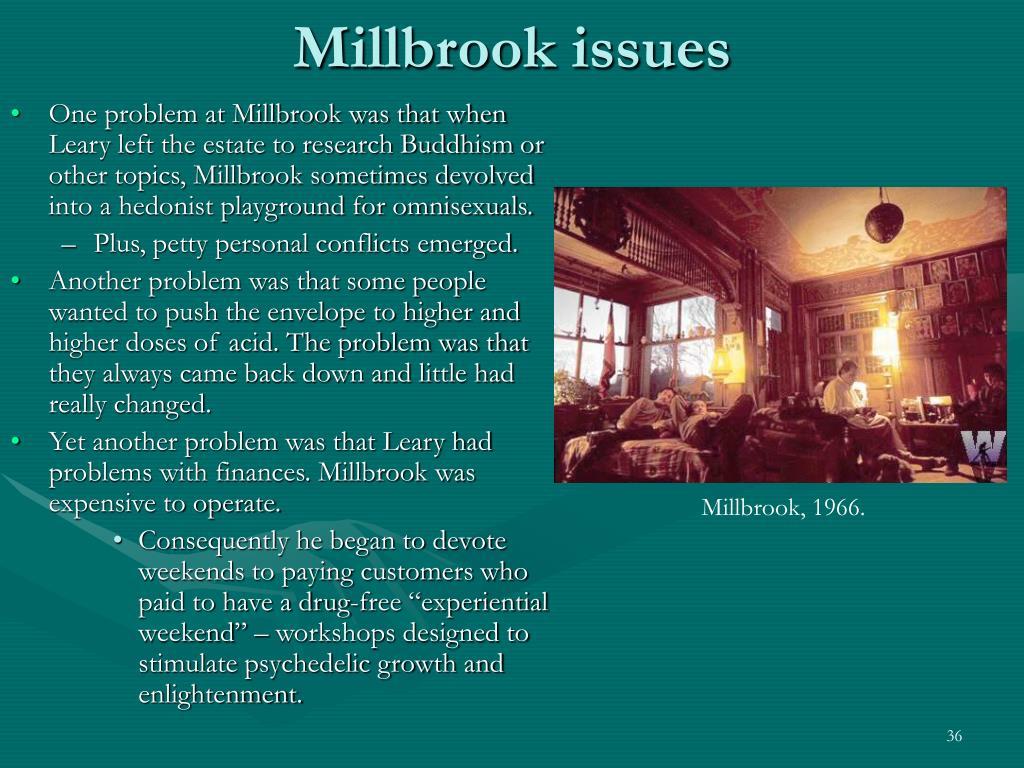 Millbrook issues
