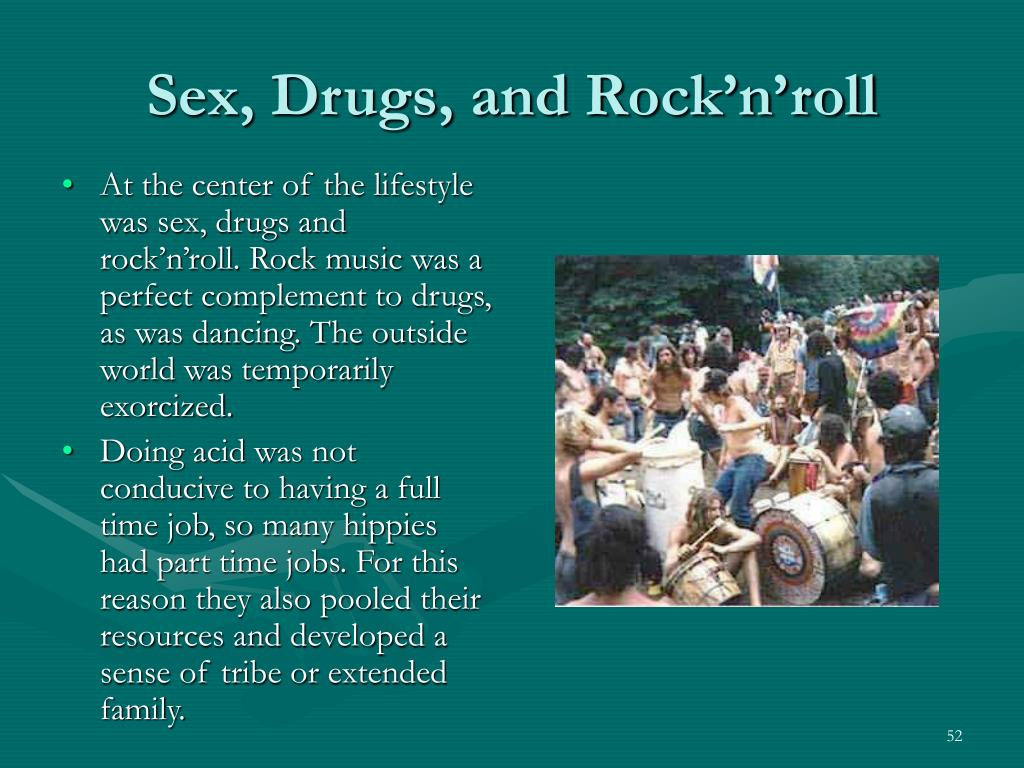 Sex, Drugs, and Rock'n'roll