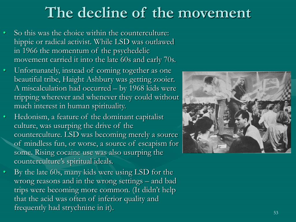The decline of the movement