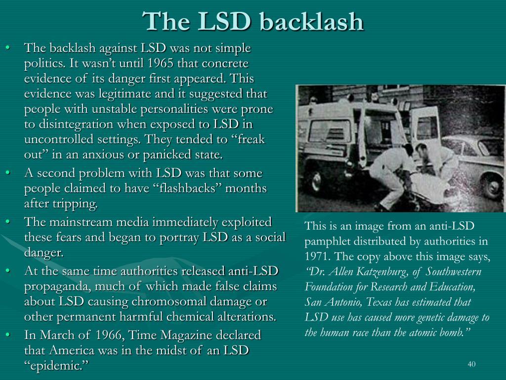 The LSD backlash
