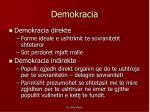 demokracia