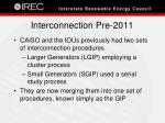 interconnection pre 2011