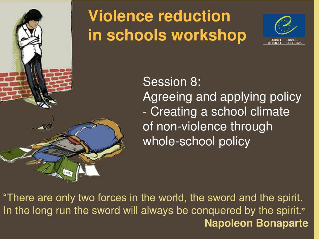 violence reduction in schools workshop l.