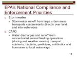 epa s national compliance and enforcement priorities19