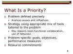 what is a priority8