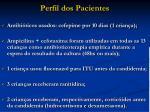 perfil dos pacientes23