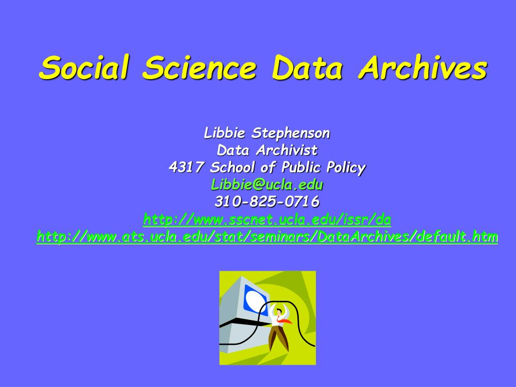 social science data archives l.