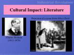 cultural impact literature