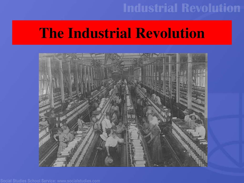the industrial revolution l.