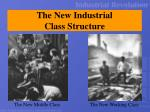 the new industrial class structure