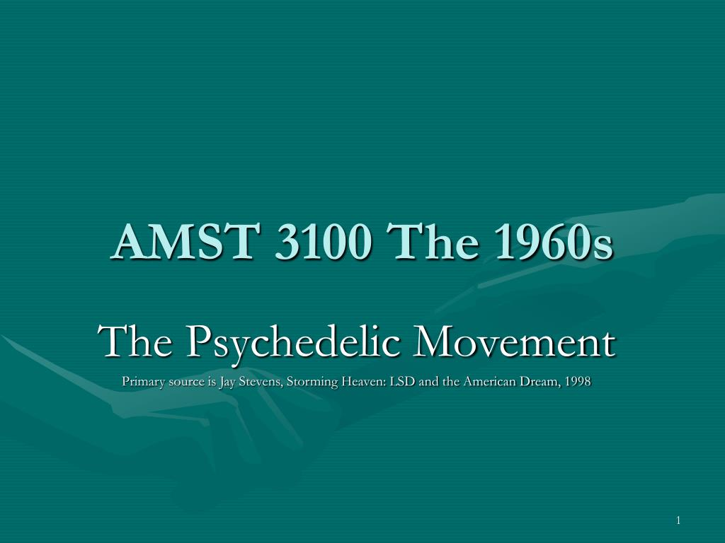 amst 3100 the 1960s l.