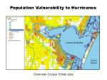 population vulnerability to hurricanes