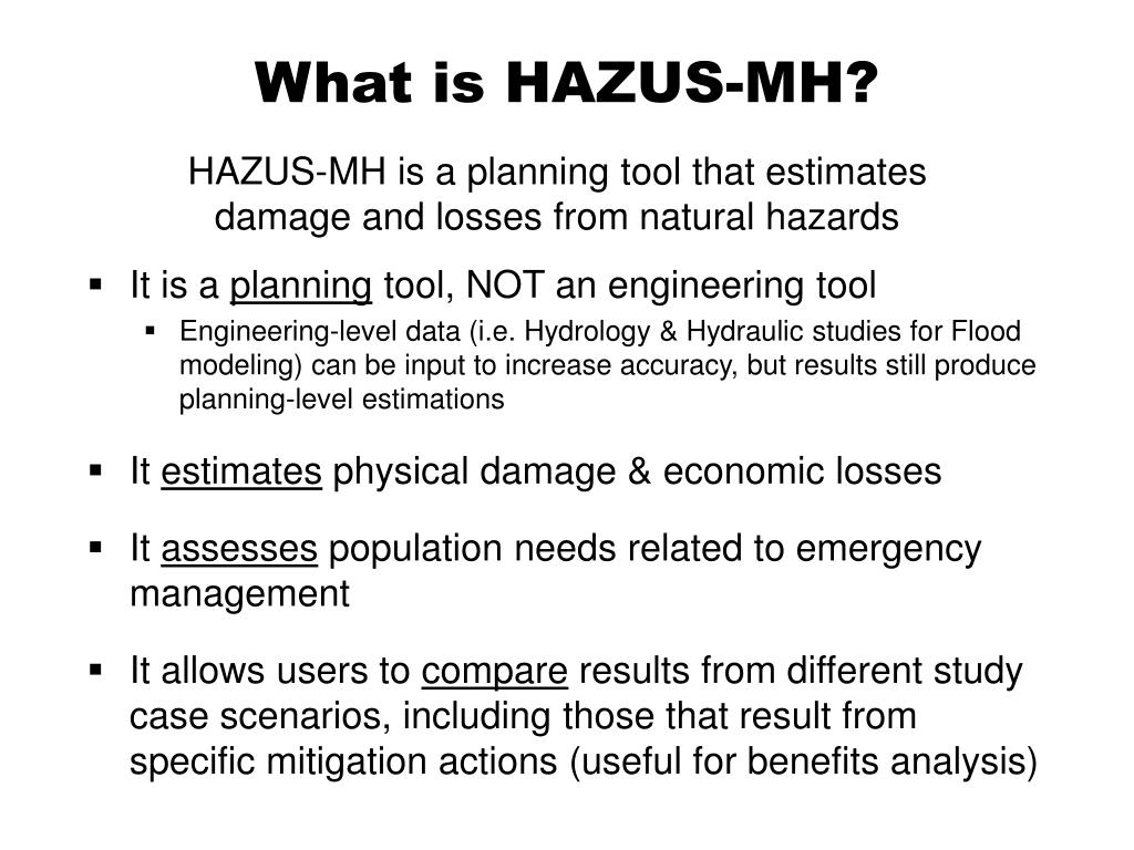 What is HAZUS-MH?