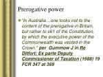 prerogative power20
