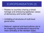europeanisation 2