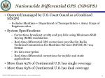 nationwide differential gps ndgps