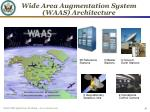 wide area augmentation system waas architecture