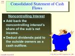 consolidated statement of cash flows14