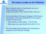 eu action to date on air pollution