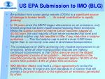 us epa submission to imo blg