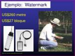 ejemplo watermark