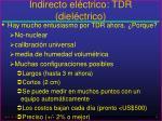indirecto el ctrico tdr diel ctrico31