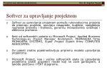 softver za upravljanje projektom