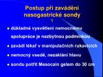 postup p i zav d n nasogastrick sondy 1