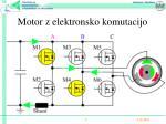 motor z elektronsko komutacijo