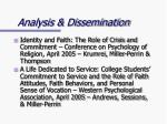 analysis dissemination9