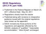 eeoc regulations 29 c f r part 1630