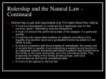 rulership and the natural law continued20