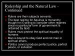 rulership and the natural law continued21