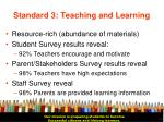 standard 3 teaching and learning13
