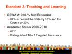 standard 3 teaching and learning15