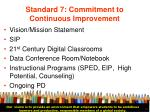 standard 7 commitment to continuous improvement34