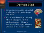 darwin in mind