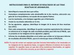 instrucciones para el informe de resultados de las tiras reactivas de uroan lisis