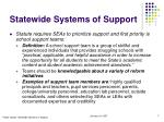 statewide systems of support7