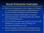 social enterprise examples