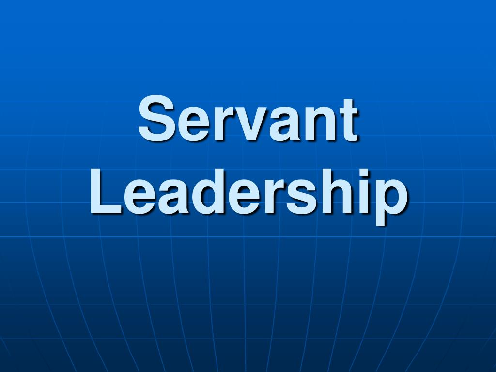 servant leadership l.