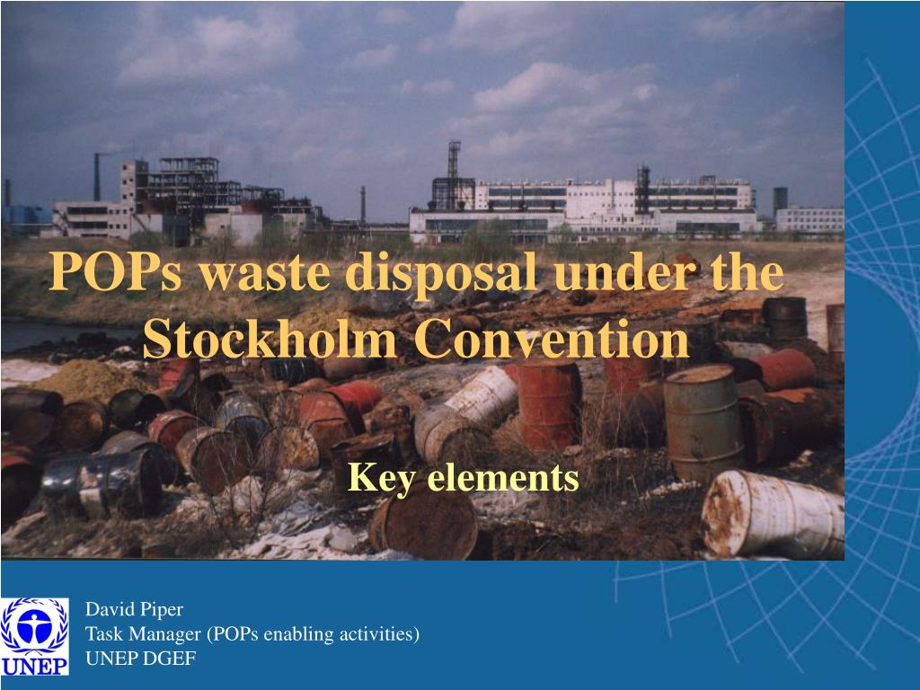 pops waste disposal under the stockholm convention l.