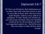 zephaniah 3 6 7