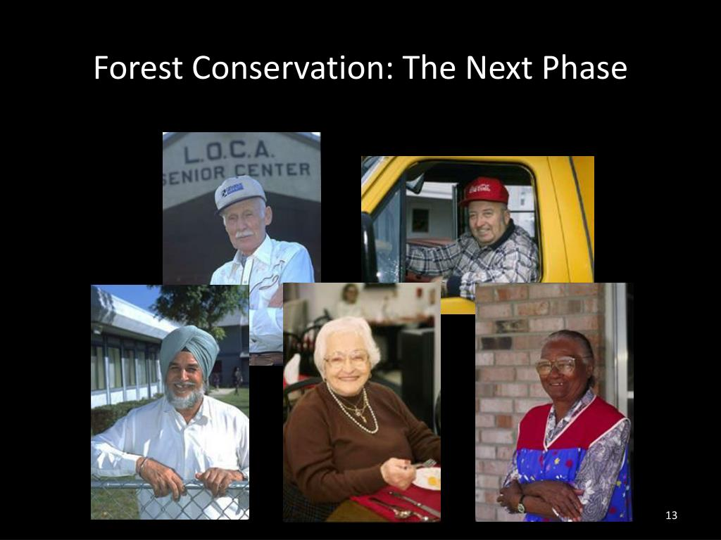 Forest Conservation: The Next Phase