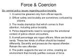 force coercion15