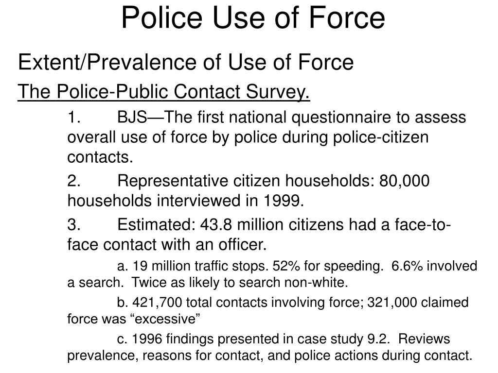 police use of force l.