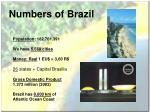 numbers of brazil