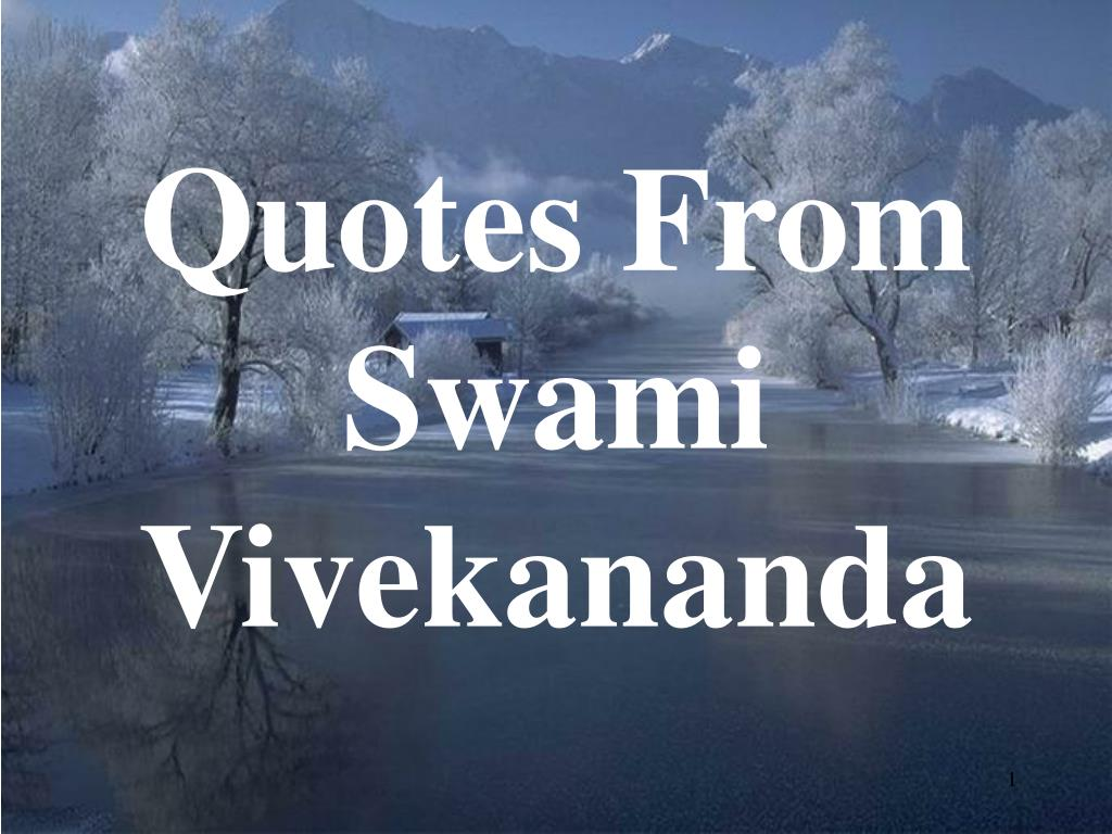 quotes from swami vivekananda l.