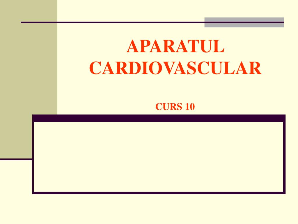 aparatul cardiovascular curs 10 l.